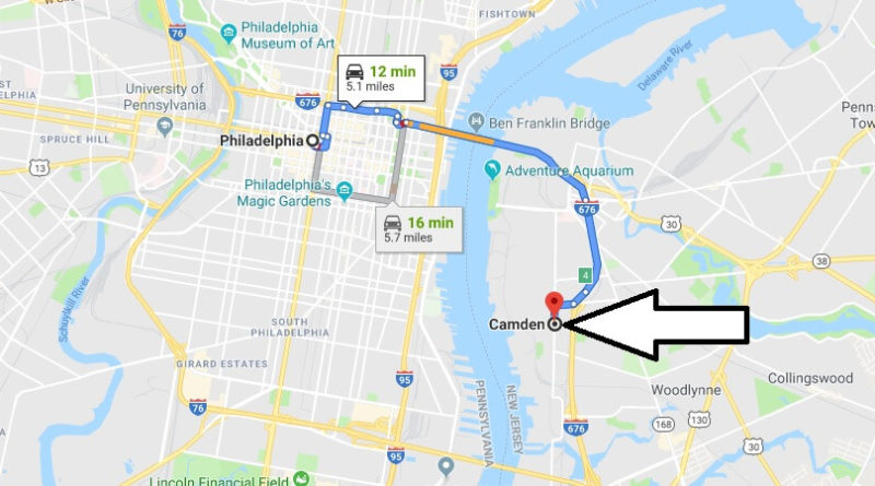 Where is Camden, New Jersey? What County is Camden? Camden Map Located