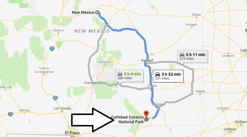 Where is Carlsbad Caverns National Park? What city is Carlsbad Caverns? How do I get to Carlsbad Caverns