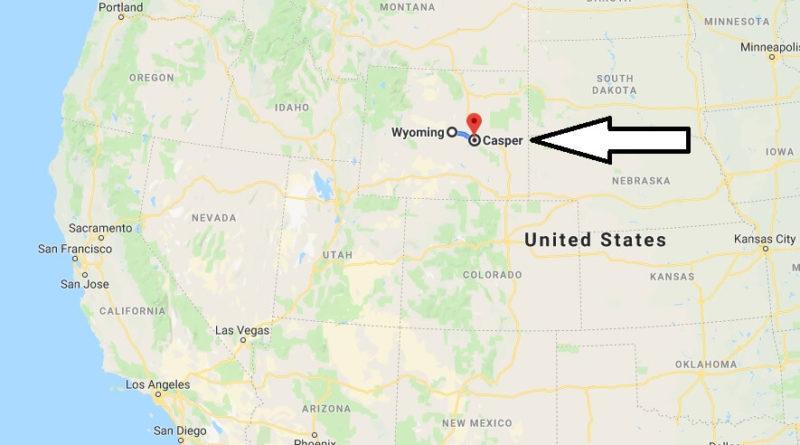 Where is Casper, Wyoming? What County is Casper? Casper Map Located