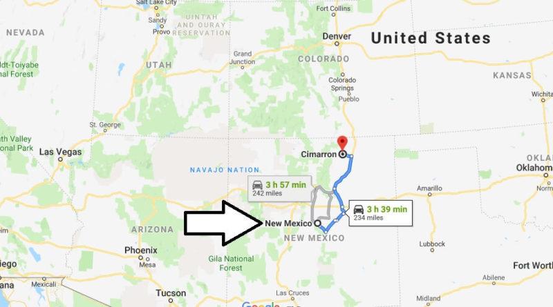 Where is Cimarron, New Mexico? What County is Cimarron? Cimarron Map Located