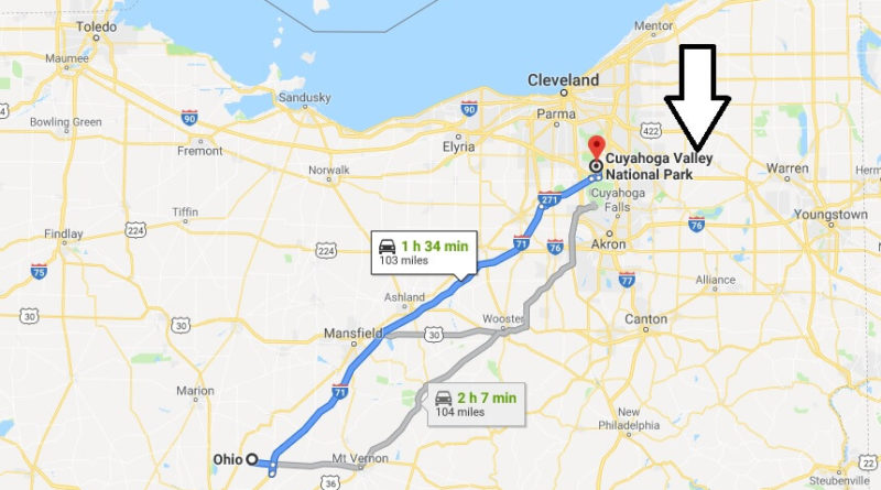 Where is Cuyahoga Valley National Park? What city is Cuyahoga Valley? How do I get to Cuyahoga Valley