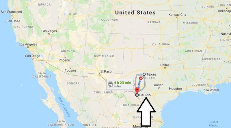 Where is Del Rio, Texas? What County is Del Rio? Del Rio Map Located