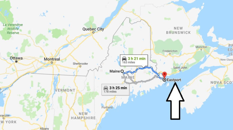 Where is Eastport, Maine? What County is Eastport? Eastport Map Located