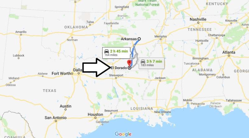 Where Is El Dorado Arkansas What County Is El Dorado El Dorado