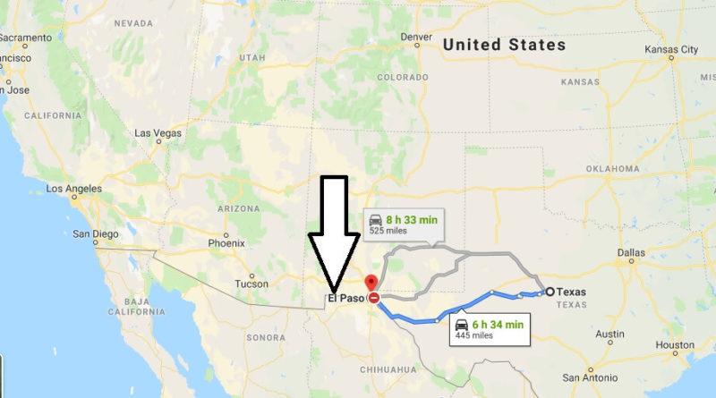 Where is El Paso, Texas? What County is El Paso? El Paso Map Located