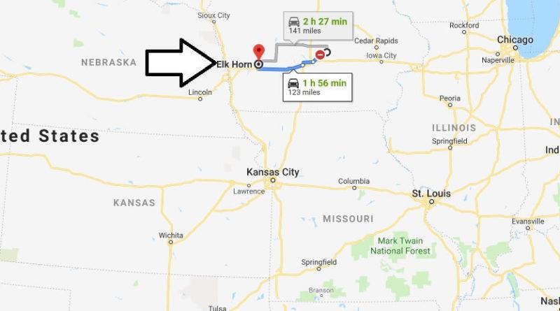 Where is Elk Horn, Iowa? What County is Elk Horn? Elk Horn Map Located