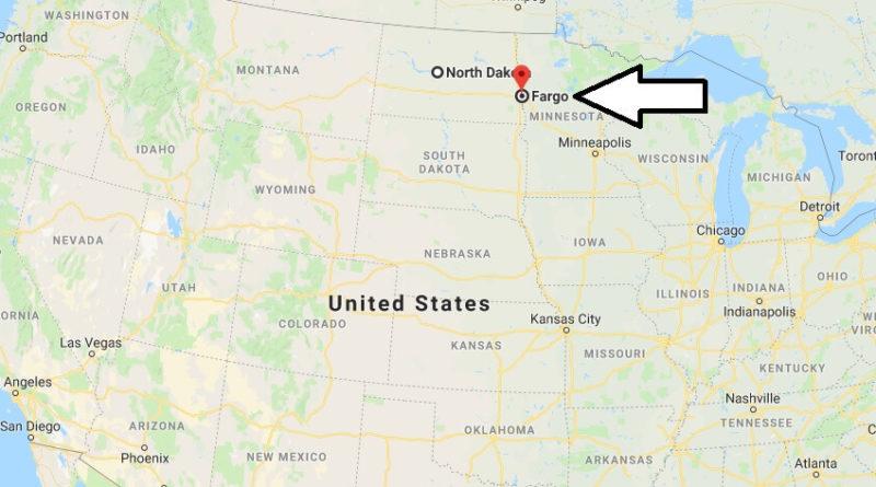Where is Fargo, North Dakota? What County is Fargo? Fargo Map Located