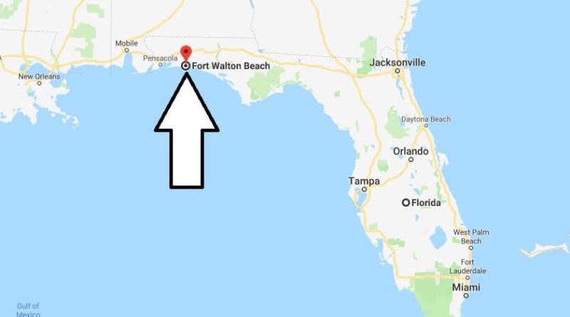 south walton beach florida map Where Is Fort Walton Beach Florida What County Is Fort Walton