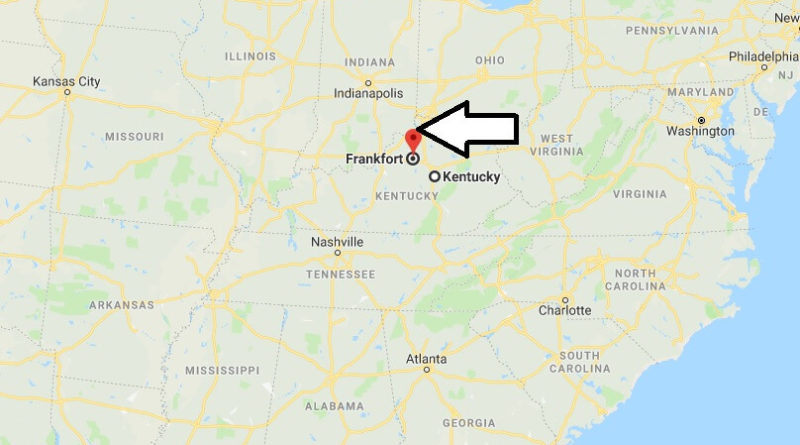Where is Frankfort, Kentucky? What County is Frankfort? Frankfort Map Located