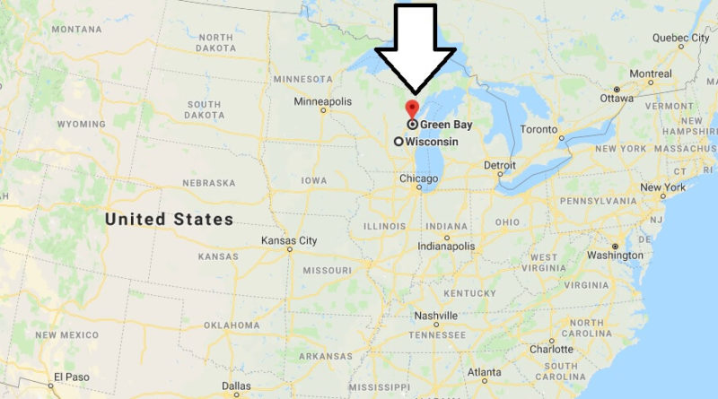 Where is Green Bay, Wisconsin? What County is Green Bay? Green Bay Map Located