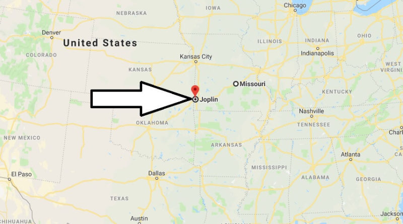 Where is Joplin, Missouri? What County is Joplin? Joplin Map Located