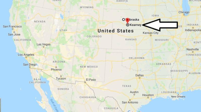 Where is Kearney, Nebraska? What County is Kearney? Kearney Map Located