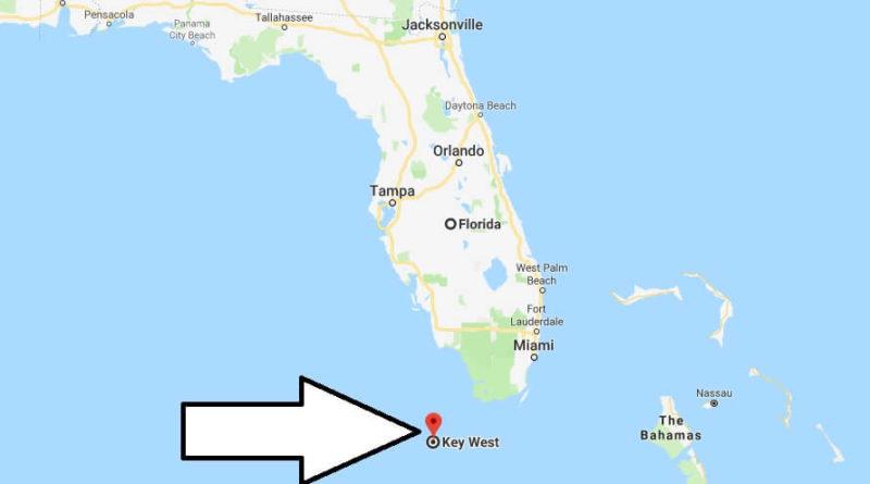 Key West Florida Map Where is Key West, Florida? What County is Key West? Key West Map