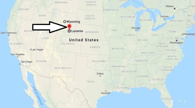 Where is Laramie, Wyoming? What County is Laramie? Laramie Map Located