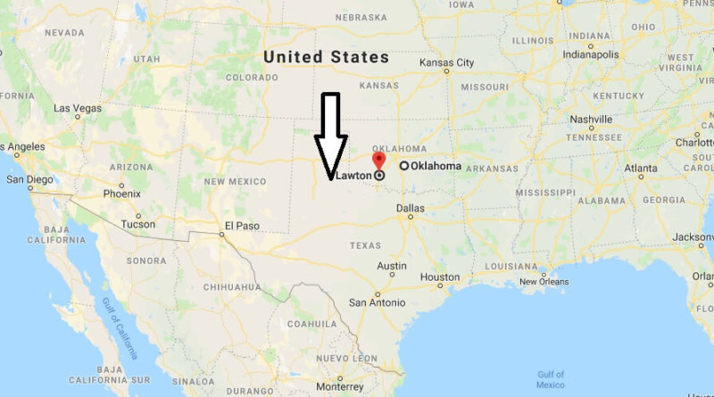 Where is Lawton, Oklahoma? What County is Lawton? Lawton Map Located