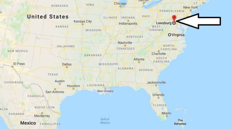 Where is Leesburg, Virginia? What County is Leesburg? Leesburg Map Located