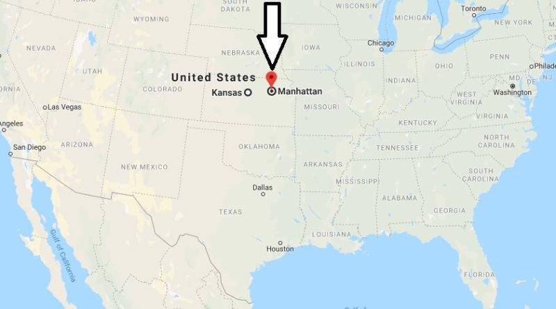 Where is Manhattan, Kansas? What County is Manhattan? Manhattan Map Located