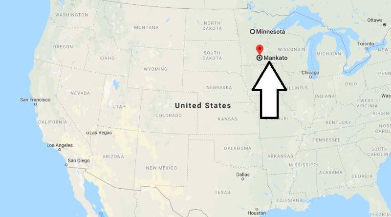 Where is Mankato, Minnesota? What County is Mankato? Mankato Map Located