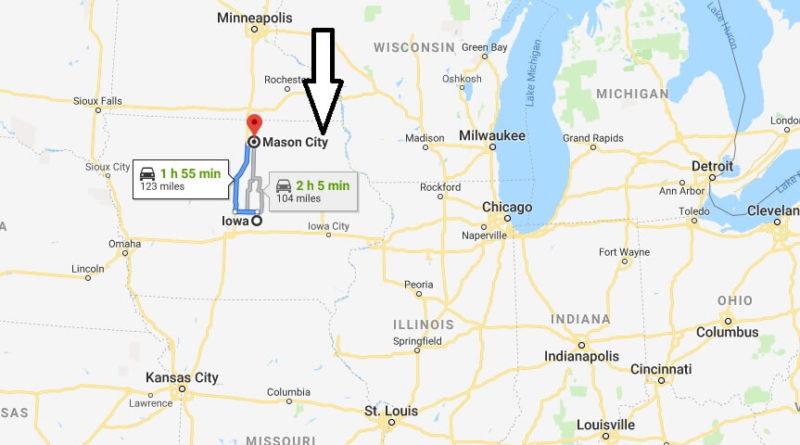 Mason City Iowa Map Where is Mason City, Iowa? What County is Mason City? Mason City