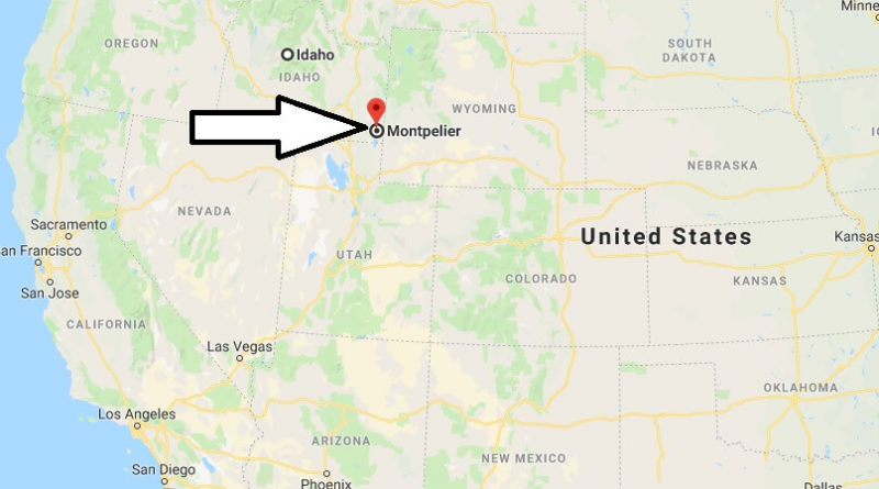 Where is Montpelier, Idaho? What County is Montpelier? Montpelier Map Located