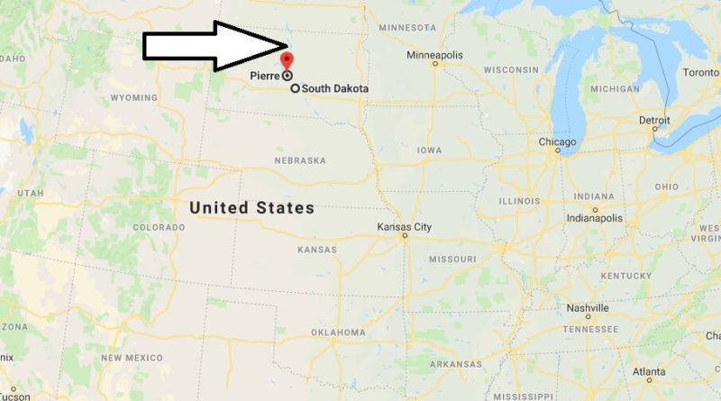Where is Pierre, South Dakota? What County is Pierre? Pierre Map Located