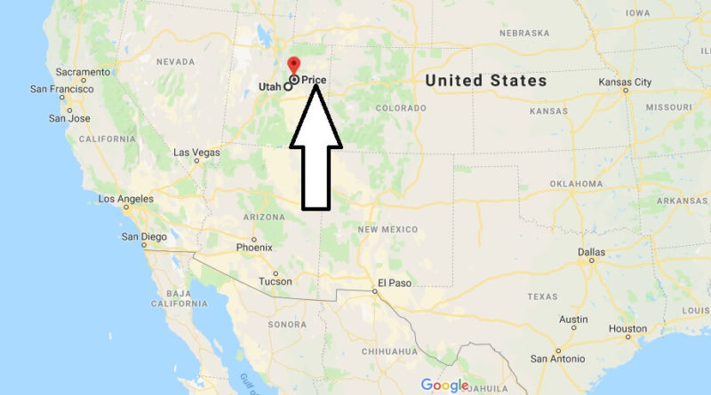 Where is Price, Utah? What County is Price? Price Map Located