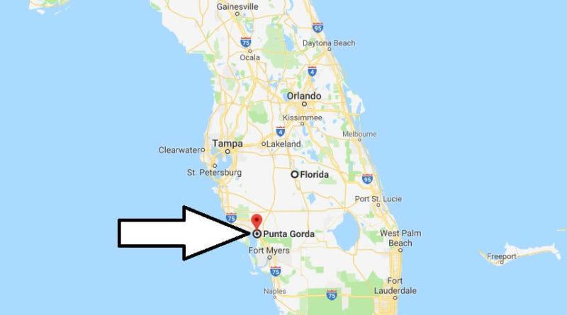 Where is Punta Gorda, Florida? What County is Punta Gorda? Punta Gorda Map Located