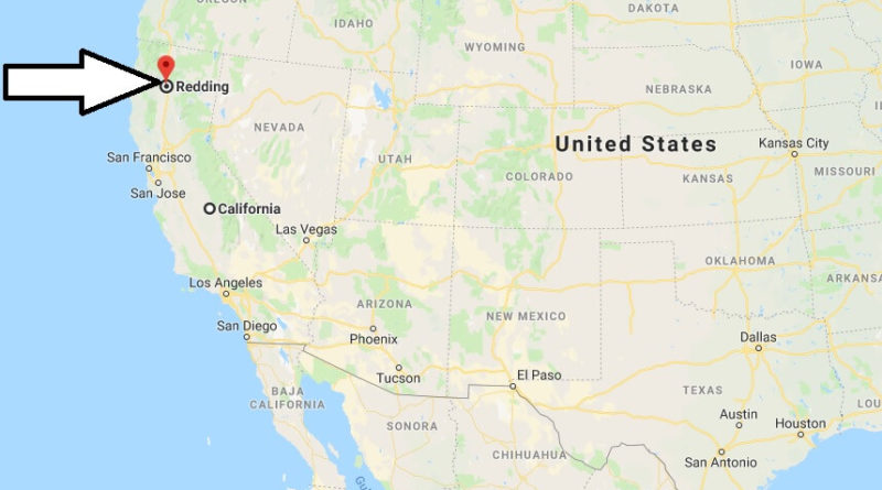 Where is Redding, California? What County is Redding? Redding Map Locate