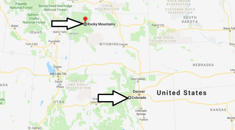 Where is Rocky Mountains National Park? What city is Rocky Mountains? How do I get to Rocky Mountains