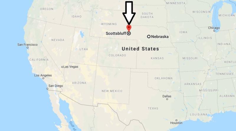 Where is Scottsbluff, Nebraska? What County is Scottsbluff? Scottsbluff Map Located