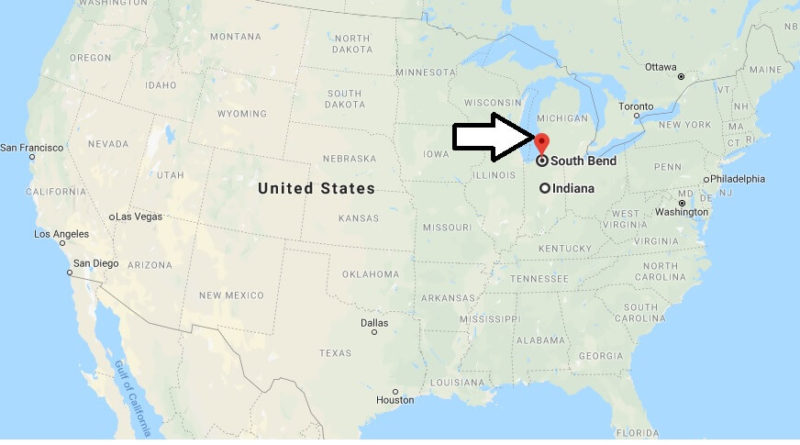 Where is South Bend, Indiana? What County is South Bend? South Bend Map Located