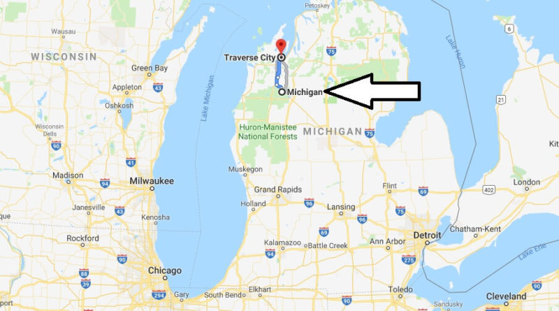 Where is Traverse City, Michigan? What County is Traverse City? Traverse City Map Located