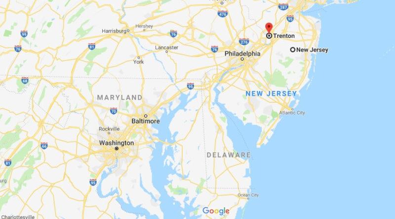 Where is Trenton, New Jersey? What County is Trenton? Trenton Map Located
