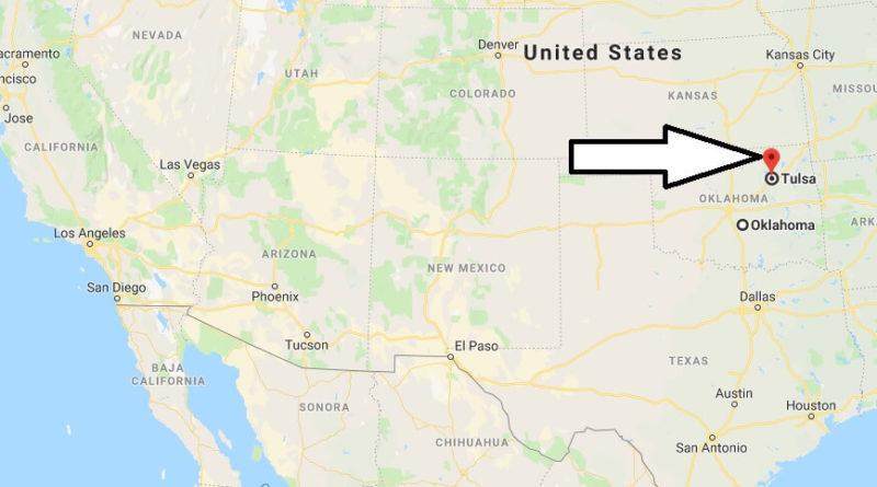 Where is Tulsa, Oklahoma? What County is Tulsa? Tulsa Map Located