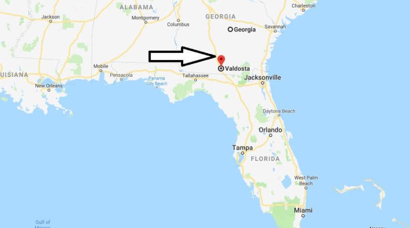 Where Is Valdosta Georgia What County