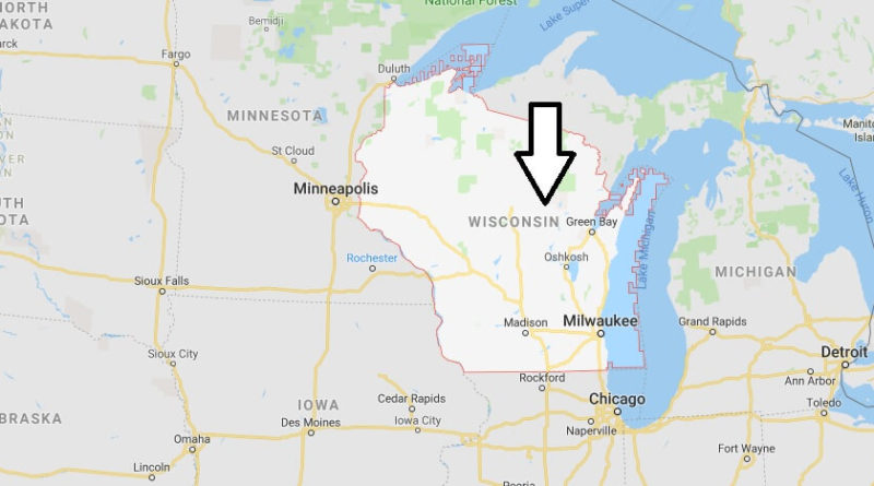 Where is Wisconsin State? Where is Wisconsin Located in The World? Wisconsin State Map