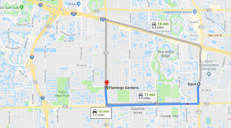 Where is Flamingo Gardens Located Prices,Tickets, Hours, Map