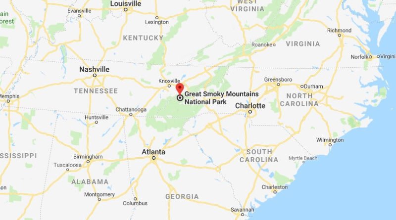 Where is Great Smoky Mountains National Park - What city is Great Smoky Mountains - How do I get to Great Smoky Mountains
