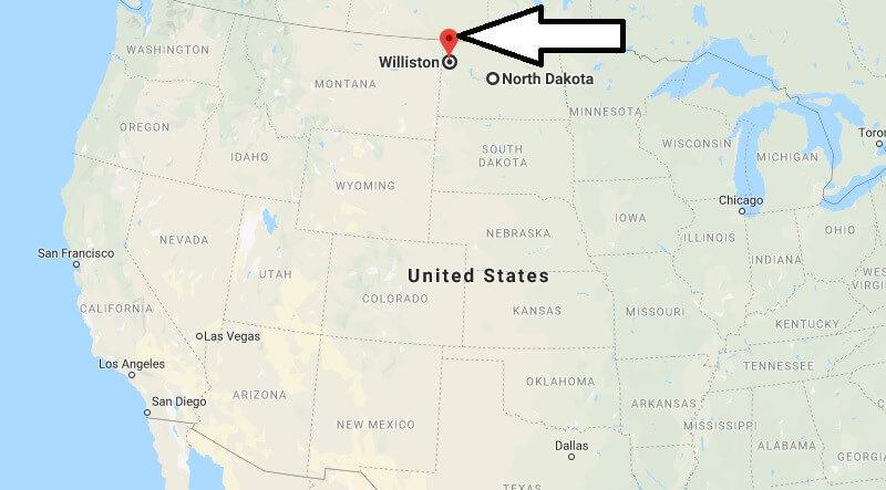 Where is Williston, North Dakota? What County is Williston? Williston Map Located
