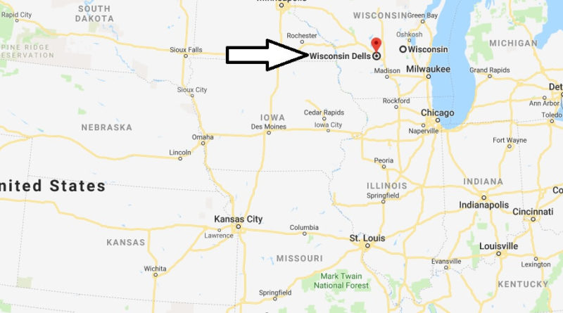 Where is Wisconsin Dells, Wisconsin? What County is Wisconsin Dells? Wisconsin Dells Map Located