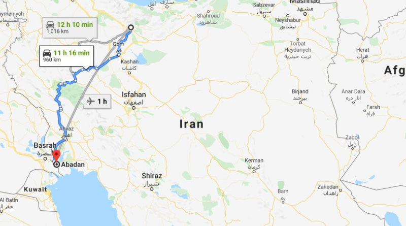 Where is Abadan Located? What Country is Abadan in? Abadan Map
