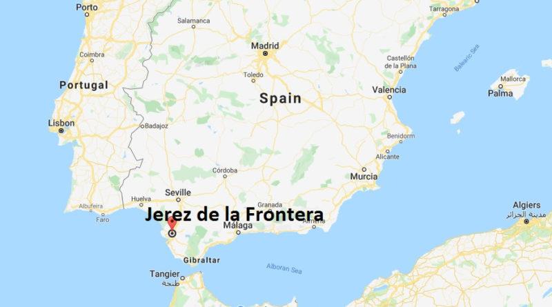 Cartina Jerez De La Frontera.Where Is Jerez De La Frontera Located What Country Is Jerez De La Frontera In Jerez De La Frontera Map Where Is Map