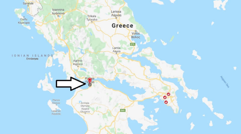 Where is Patra Located? What Country is Patra in? Patra Map ...