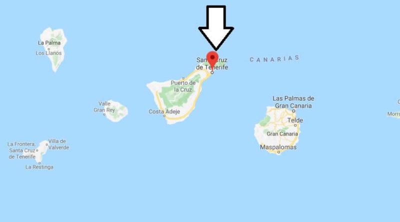map of santa cruz de tenerife Where Is Santa Cruz De Tenerife Located What Country Is Santa map of santa cruz de tenerife