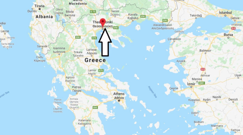 Where Is Thessaloniki Located What Country Is Thessaloniki In