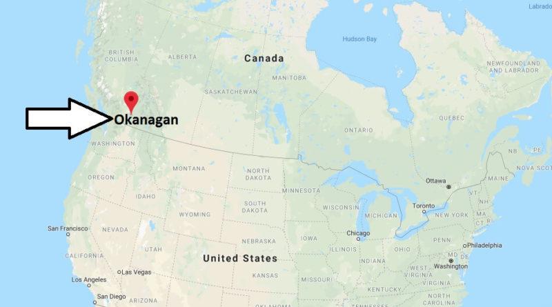 Okanagan Canada Map Where is Okanagan (Canada) Located? What Country is Okanagan in