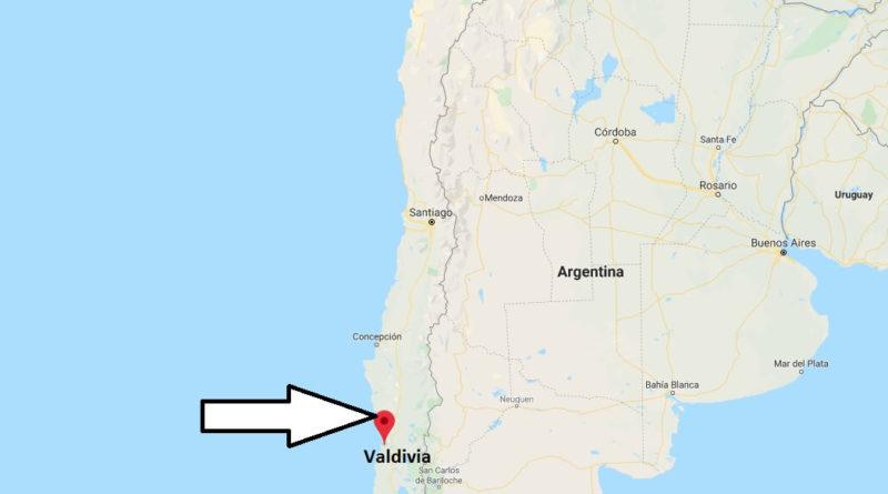 map of valdivia chile Where Is Valdivia Located What Country Is Valdivia In Valdivia map of valdivia chile