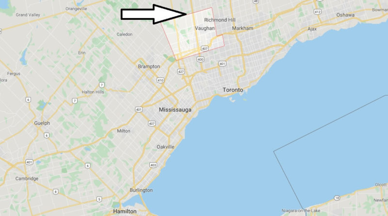 Where is Vaughan (Canada) Located? What Country is Vaughan ...