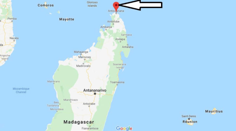 Where is Antsiranana Located? What Country is Antsiranana in? Antsiranana  Map | Where is Map