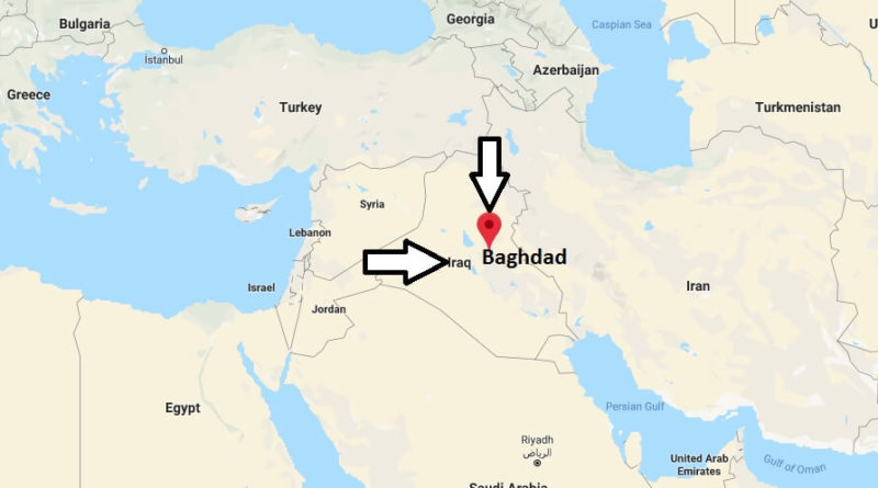 Where is Baghdad Located? What Country is Baghdad in ...
